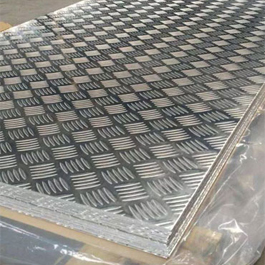 Stainless Steel 321H Chequered Plate